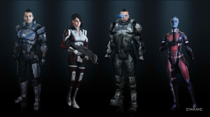 ME3 Characters