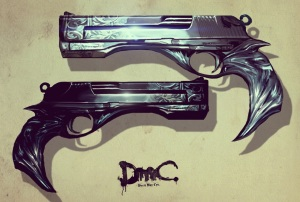 Dantes guns, Ebony and Ivory