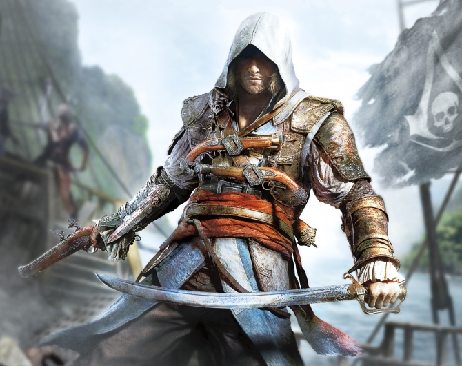 Assassin's Creed IV: Black Flag's new protagonist, Edward Kenway