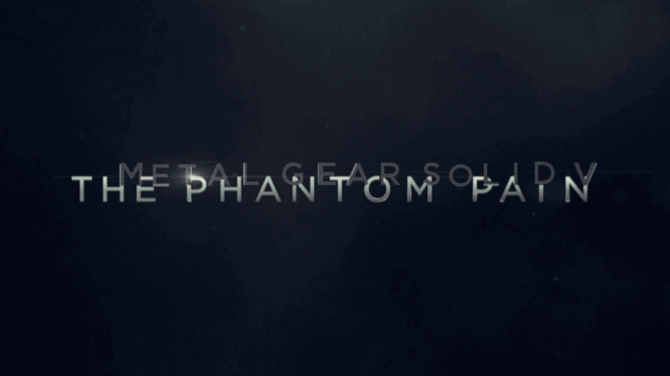 The original teaser trailer for The Phantom Pain seems to have also been a teaser for Metal Gear Solid V as well. The background has become visible now.