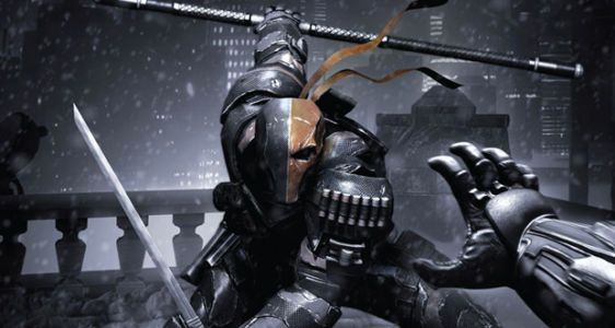 Batman fights Deathstroke in the new Arkham Origins teaser