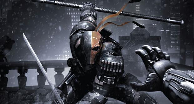 Batman fights Deathstroke in the new Arkham Origins teaser