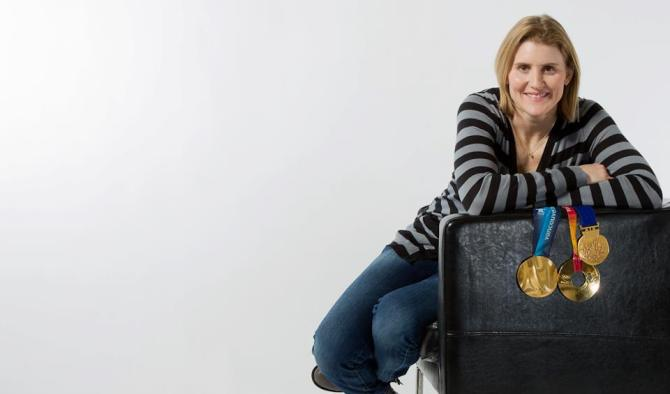 Hayley Wickenheiser is one of two professional female hockey players to be included in NHL 13.