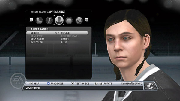 14-year old Lexi Peters of Buffalo made a request to EA to implement female players, and she got much more. EA included an avatar of Lexi, so she can finally feel like she's playing in the NHL