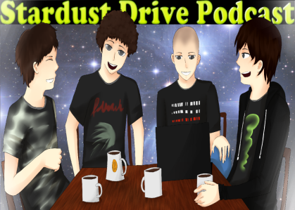 Banner for the Stardust Drive Podcast