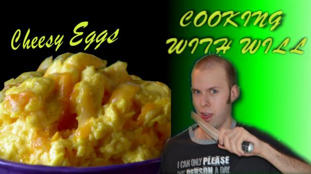Cheesy Eggs - Cooking with Will